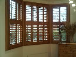 decor mocha wood plantation blinds shutter for natural interior