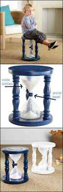 How To Make A Time-Out Stool In The Shape Of An Hourglass - OMG !