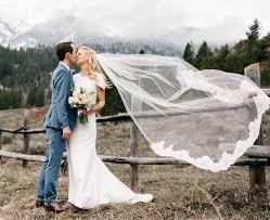 Le Voile De La Mariée Long Court Ou Voilette