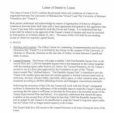 This type of letter provides information about the relation established between the tenant and. 4 Letter Of Intent To Lease Templates Word Excel Templates