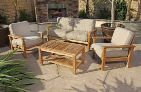 Home Decor Appealing Teak Patio Table Perfect With Top Furniture