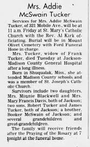 ADdie Tucker obit - Newspapers.com