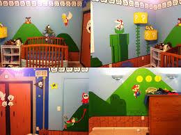 Super Mario Bros Bedroom Decor Super Mario Nursery Dorkly Post