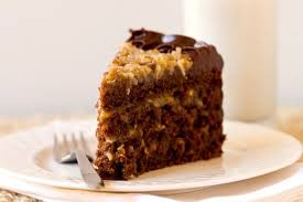 slice of german chocolate cake. Modren Cake MY OTHER RECIPES On Slice Of German Chocolate Cake A