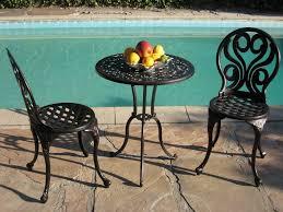 Woodard New Orleans Cast Aluminum 36 Round Glass Top Bistro Table Bistro Furniture Outdoor