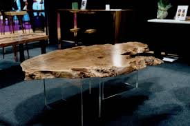 live edge coffee table raven river