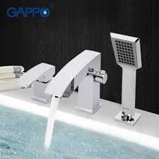 bathroom shower faucet bathtub faucet tap bath shower set waterfall bathtub sink faucet water mixer sink