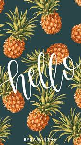 cute pineapple wallpaper. dropbox - iphone wallpaper hello pineapples.jpg cute pineapple i