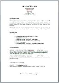 Word Doc Resume Template Resume Template Word 2017