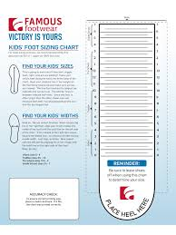 Baby Size Chart Template 24 Images Of Shoe Measurement Template Leseriail 19