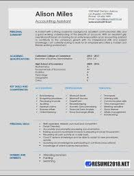 Accounting Assistant Resume Samples 40 Resume 40 Custom Accounting Assistant Resume