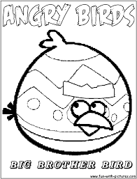 Small Picture Angry Birds Coloring Pages Free Printable Colouring Pages for