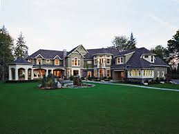 massive craftsman style mansion home