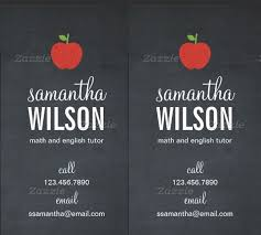 Teacher Business Cards Templates Free Business Cards For Teachers 48 Free Psd Format Download Free