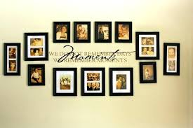 wall frame ideas photo value set picture frames for walls