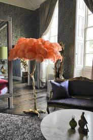 The Ostrich Feather Lamp Coral \u2013 A Modern Grand Tour. This is ...
