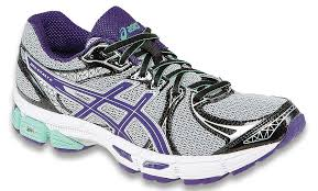 womens asics purple gray beach glass running shoes gel exalt 2