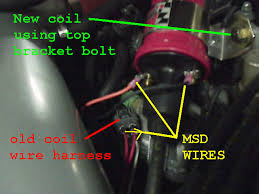 how to 5th gen msd igntion install blaster 2 coil honda forum at the end of it all it should look like this