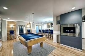 rug under pool table eye catching what size is the you used to anchor dimensions