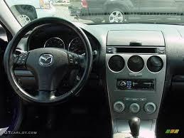 mazda 6 2004 interior. 2004 mazda6 s sedan lapis blue metallic black photo 10 mazda 6 interior
