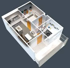 Small One Bedroom Apartment Floor Plans 50 One 1 Bedroom Apartment House Plans Architecture Design
