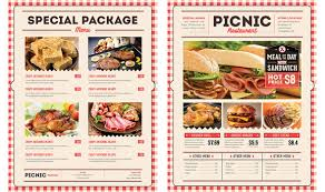 45 Menu Design Projects For Creative & Fun Restaurants