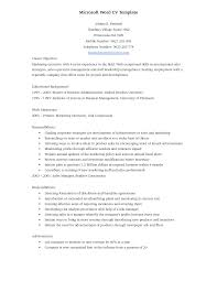 Accounting Clerk Resume Objectives Sample Objective Microsoft Word