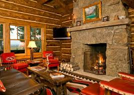 Log Cabin Living Room Simple 48 Homey Rustic Living Room Designs Home Design Lover
