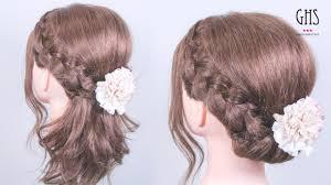 結婚式でのハーフアップの髪型35選お呼ばれでもok Lovelyラブリー