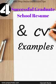 Crafting The Perfect Resume Or Cv For Graduate School Can Be