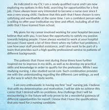 Nursing Personal Statement Examples 15 Personal Statement For Nursing School Resume Cover
