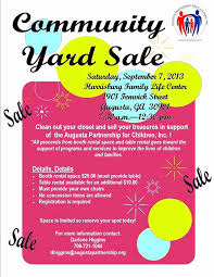 Lovely Free Yard Sale Flyer Template Audiopinions Document