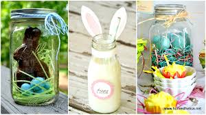 Decorating Mason Jars For Gifts DIY Easter Mason Jars Crafts To Try This Spring 14