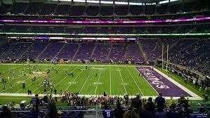 U S Bank Stadium Section 130 Minnesota Vikings