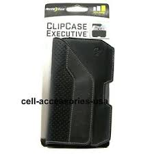 Details About Nite Ize Clip Case Executive Genuine Leather Universal Phone Holster Xxl Black