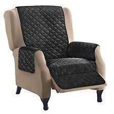 chair arm covers. recliner chair arm covers lazy boy furniture protectror slipcover black/gray new