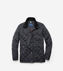 Men's Quilted Stand Collar Jacket in Black | Cole Haan & ... Quilted Stand Collar Jacket Adamdwight.com