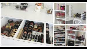 makeup collection storage room tour kathleenlights