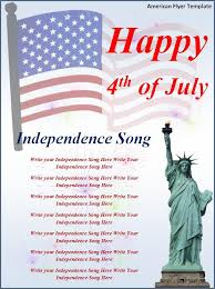 4th Of July Flyer Template Insaat Mcpgroup Co