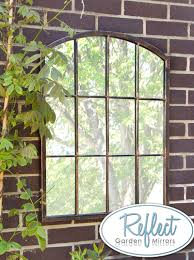 garden mirror. Fine Mirror 2ft 7in X Metal Arched Glass Garden Mirror  By Reflect  Throughout I
