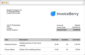 How To Create A Professional Invoice Online Invoicing Software For Small Businesses And