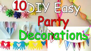 10 Diy Easy Party Decorations Ideas Ana Diy Crafts