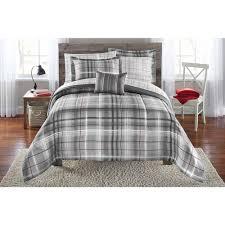 plaid sheet sets queen