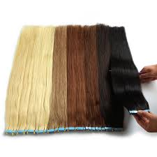 24 Inch 100Gram Seamless Tape In Remy Human Hair Extensions ...