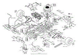 dixon ztr 4422 (1996) parts diagram for wiring assembly Basic Electrical Wiring Diagrams at Ztr 4423 Wiring Diagram