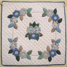 98 best Amish Quilts images on Pinterest | Sconces, 1920s and ... & Amish Flower Applique Wall Hanging Quilt Adamdwight.com