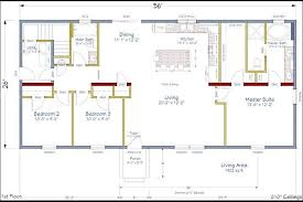 simple ranch house plans with basement new ranch open floor plans square feet house designs free
