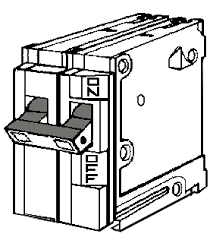 circuit breaker large circuit breakers on wiring thermostats in a circuit