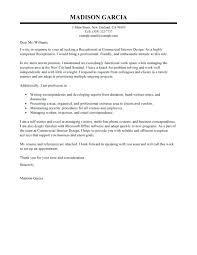Dental Receptionist Cover Letter Cover Letter Examples Receptionist Best Receptionist Cover Letter