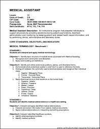 Example Of Medical Assistant Resume Magnificent Medical Administrative Assistant Resume Objective Examples Fullofhell